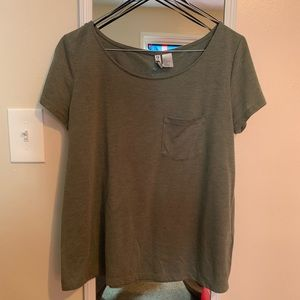 Green top from H&M size small